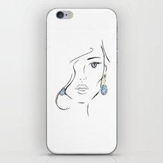 Topaz eye iPhone & iPod Skin