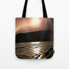 Overwhelming Waves of Sadness Tote Bag
