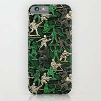 iPhone & iPod Case featuring Camouflage by Dolphin and Cow