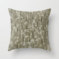 City Visions Throw Pillow