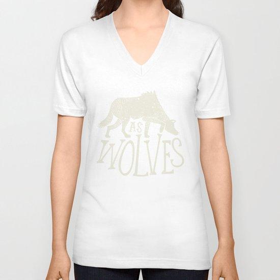 As Wolves V-neck T-shirt