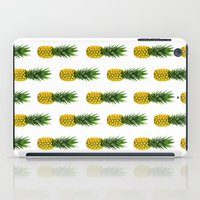 Pineapple Pattern iPad Case
