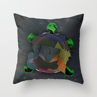 Shellous? Throw Pillow