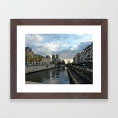 Seine & Notre Dame Framed Art Print