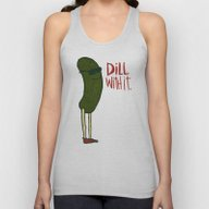 DILL WITH IT Unisex Tank Top
