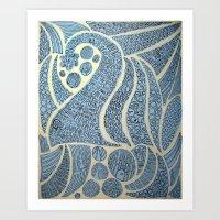 Oration Art Print