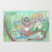 The Secret of Fantasies Canvas Print