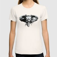 Earth Song Womens Fitted Tee Natural SMALL