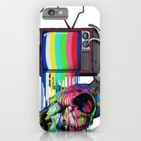 iPhone & iPod Case featuring COLORS TV by GENO75