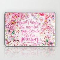 be yourself.  Laptop & iPad Skin