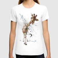 giraffe T-shirts featuring Giraffe by TAOJB