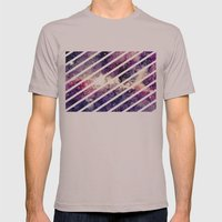 Watercolor Galaxy Mens Fitted Tee Cinder SMALL