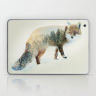 Winter Fox Laptop & iPad Skin