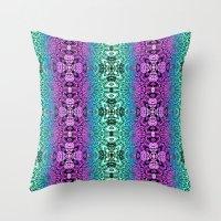 Meditative Garden Throw Pillow