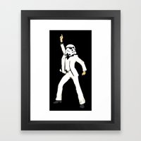 Saturday Night Trooper _… Framed Art Print