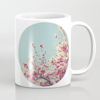 Retro Blossoms Mug