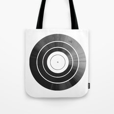 Vinyl Intentions Tote Bag