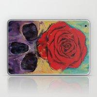 Skull Rose Laptop & iPad Skin