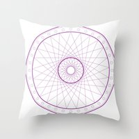 Anime Magic Circle 15 Throw Pillow