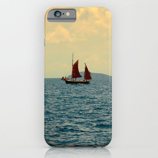Lonely Boat iPhone & iPod Case