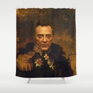 Christopher Walken - Rep… Shower Curtain