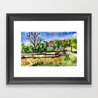 Farm Quickie #1 Framed Art Print