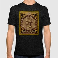 Tax Stamp 1864 - 019 Mens Fitted Tee Tri-Black SMALL