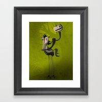 Tricky Tricky Framed Art Print