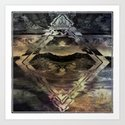 Symmetry IX Art Print
