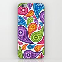 Crazy Paisley iPhone & iPod Skin