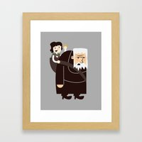 Ring Bearer Framed Art Print