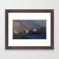 Subdued Piercing  Framed Art Print