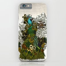 Floral Peacock iPhone 6 Slim Case