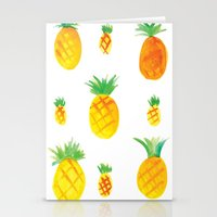 Pineapple Goodness Stationery Cards