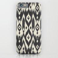 Black & Cream Tribal Ika… iPhone 6 Slim Case