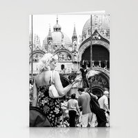 Birds of a Feather - St. Marks Square Italy Stationery Cards