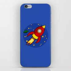 Space Rocket iPhone & iPod Skin