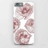 iPhone & iPod Case featuring Poppies by Annike