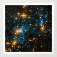 Cosmos 2, When Stars Col… Art Print