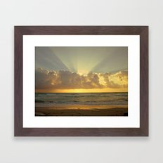 Miami Dreamin Framed Art Print