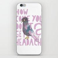 Headache! iPhone & iPod Skin