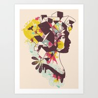 Overcrowded Memory Art Print