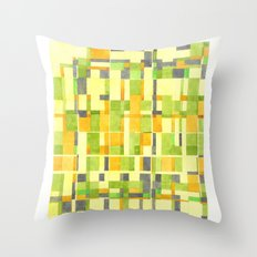 color field_01 Throw Pillow