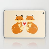 Love Foxes Laptop & iPad Skin