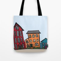 TownHouses Tote Bag