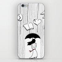 RAINY THOUGHTS iPhone & iPod Skin