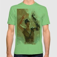 Furiosa Mens Fitted Tee Grass SMALL