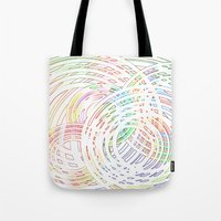 Tracing Lazy Circles In … Tote Bag