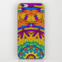 Colorful Geometry iPhone & iPod Skin