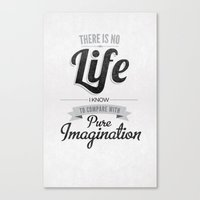Pure Imagination Canvas Print